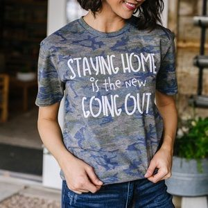 Home Body Staying Home Graphic Tee